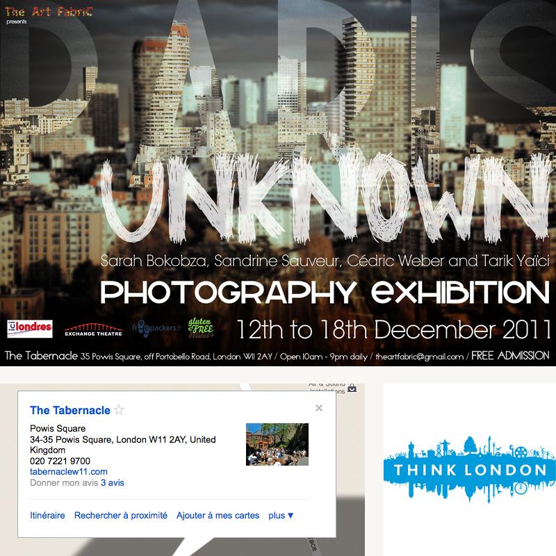 Exposition Londres du 12 au 18 décembre…